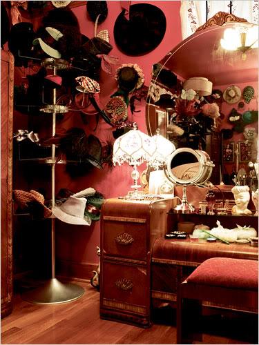Bedroom Mirror Photoshoot