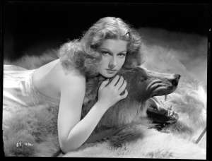Ann-Sheridan-on-Bear-Rug-by-George-Hurrell